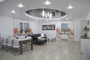 Immobilier, travaux, plafond tendu