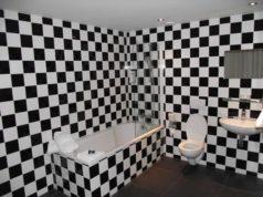 Travaux, toilettes, WC suspendu