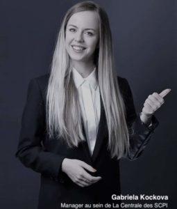 Gabriela Kockova, consultante au sein de LA CENTRALE DES SCPI