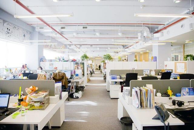 open space aménagement bureaux