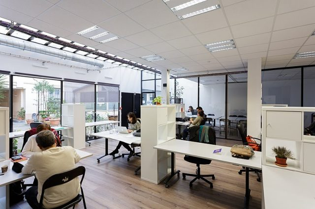 espace bureau en entrepise