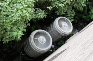 Éléments extérieurs de pompes à chaleur à usage résidentiel