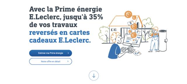 Prime Eco Energie Leclerc