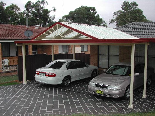 un carport construit après déclaration travaux carport