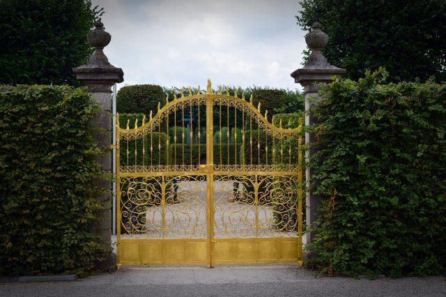 Un portail installé après déclaration travaux portail