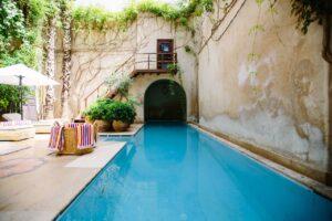 piscine construite apres déclaration de travaux