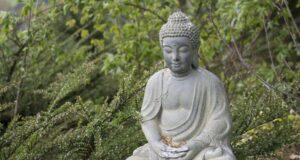 Bouddha placé a l'extérieur