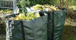 des déchets à broyer